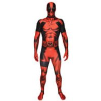 Morphsuit Adults' Marvel Deadpool - L - Red - Deadpool Gifts