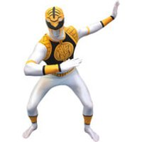 Morphsuit Adults Power Rangers White - M - White