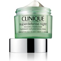 Clinique Superdefense Night Recovery Moisturiser 50ml (Skin Types 3/4)