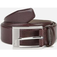 BOSS Hugo Boss Men's C-Ellot Leather Belt - Brown - W36/95cm - Brown