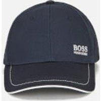 BOSS Green Mens Small Logo Cap - Navy
