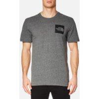 The North Face Men's Short Sleeve Fine T-Shirt - TNF Medium Grey Heather - M - Grey
