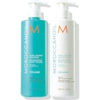 Moroccanoil Extra Volume Shampoo and Conditioner Duo (2x500ml) (Worth £79.00)