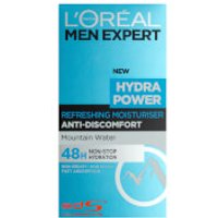 L'Oreal Paris Men Expert Hydra Power Refreshing Moisturiser (50ml)