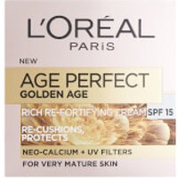 L'Oréal Paris Age Perfect Golden Age Rich Refortifying Cream - SPF15 (50ml)