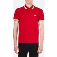 BOSS Green Men's Paddy Polo Shirt - Medium Red - M - Red