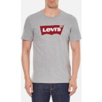 Levis Mens Tab Graphic Set-In Neck T-Shirt - Grey - XXL - Grey