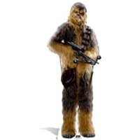 Star Wars The Force Awakens Chewbacca Life Size Cut Out