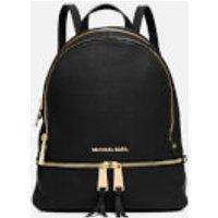 MICHAEL MICHAEL KORS Womens Rhea Zip Backpack - Black