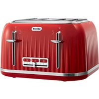 Breville VTT783 Impressions Collection Toaster - Red - Red Gifts