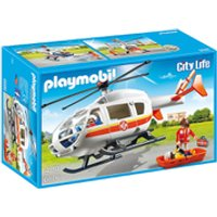 Playmobil City Life Flying Ambulance (6686) - Life Gifts