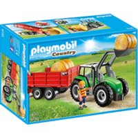 Playmobil Country Large Tractor with Trailer (6130) - Tractor Gifts