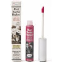 theBalm Liquid Lipstick Meet Matt(e) Hughes 7.4ml (Various Shades) - Chivalrous