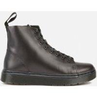 Dr. Martens Talib 8-Eye Raw Boots - Black - UK 9