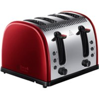 Russell Hobbs 21301 Legacy Toaster - Red