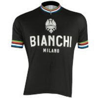 Bianchi Men's Pride Short Sleeve Jersey - Black - S - Black