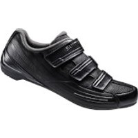 Shimano RP2 SPD-SL Cycling Shoes - Black - EUR 49 - Black