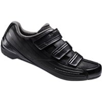 Shimano RP2 SPD-SL Cycling Shoes - Black - EUR 41 - Black