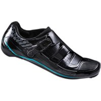 Shimano WR84 SPD-SL Cycling Shoes - Black - EUR 36 - Black