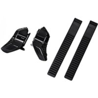 Shimano Low Profile Buckle and Strap Set - Black