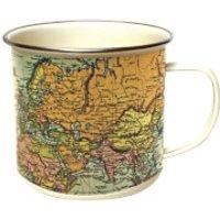 Man of the World - Pale Enamel Mug