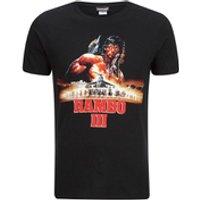 Rambo 3 Mens T-Shirt - Black - XL - Black
