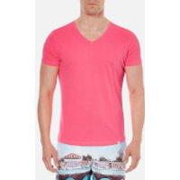 Orlebar Brown Men's Obv V Neck T-Shirt - Carmine - M - Red