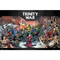 DC Comics Trinity War - 24 x 36 Inches Maxi Poster