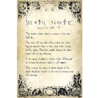 Death Note Rules - 24 x 36 Inches Maxi Poster