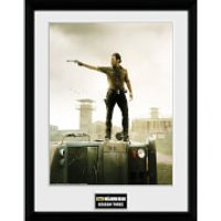 The Walking Dead Season 3 - 16 x 12 Inches Framed Photographic - Walking Gifts