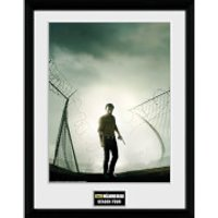 The Walking Dead Season 4 - 16 x 12 Inches Framed Photographic - Walking Gifts