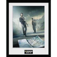 The Walking Dead Season 5 - 16 x 12 Inches Framed Photographic - Walking Gifts