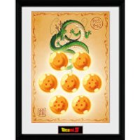 Dragonball Z Dragon Balls - 16 x 12 Inches Framed Photographic