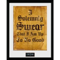 Harry Potter I Solemnly Swear - 16 x 12 Inches Framed Photographic - Harry Potter Gifts