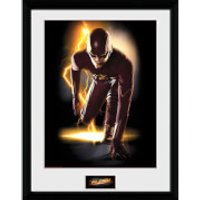 DC Comics The Flash Speed - 16 x 12 Inches Framed Photographic