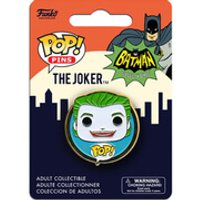 DC Comics Batman Classic 1966 The Joker Pop! Pin