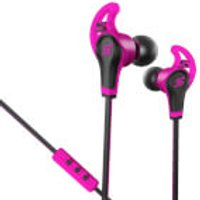 SMS Street Sport In Ear Wired Headphones with Mic & Remote - Pink - Music Gifts