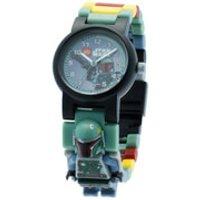 LEGO Star Wars Boba Fett Mini Figure Link Watch - Star Wars Gifts