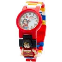 Reloj de pulsera con Minifigura de Wonder Woman - Lego DC Comics Super Heroes