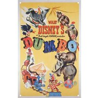 Disney Film Posters Dumbo Large Tin Sign - Posters Gifts