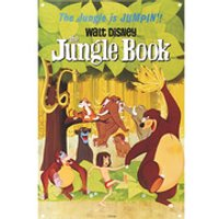 Disney Film Posters The Jungle Book Large Tin Sign - Posters Gifts