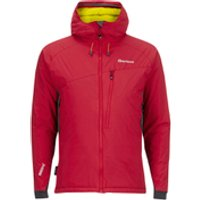 Sprayway Mens Grendel Insulated Jacket - Cherry/Smog - XXL - Red