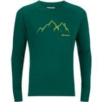 Sprayway Mens Source Long Sleeve T-Shirt - Evergreen - M - Green