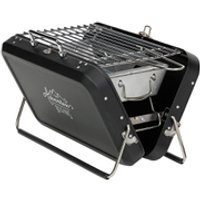 Gentlemens Hardware Portable Suitcase Style Barbecue