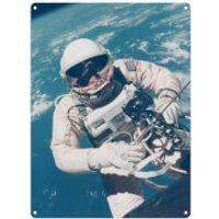 NASA Astronaut Tin Sign - Large