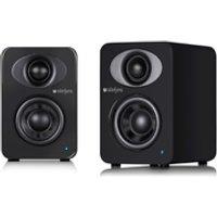 Steljes Audio NS1 Bluetooth Duo Speakers - Gun Metal Grey