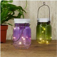 Solar Fairy Jars (Set of 2) - Fairy Gifts