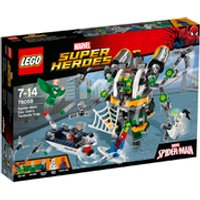 LEGO Superheroes: Spider-Man: Doc Ocks Tentacle Trap (76059)