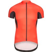 Look Pulse Short Sleeve Jersey - Red/Black - M - Red/Black