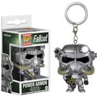 Fallout Power Armor Pocket Pop! Key Chain - Key Gifts
